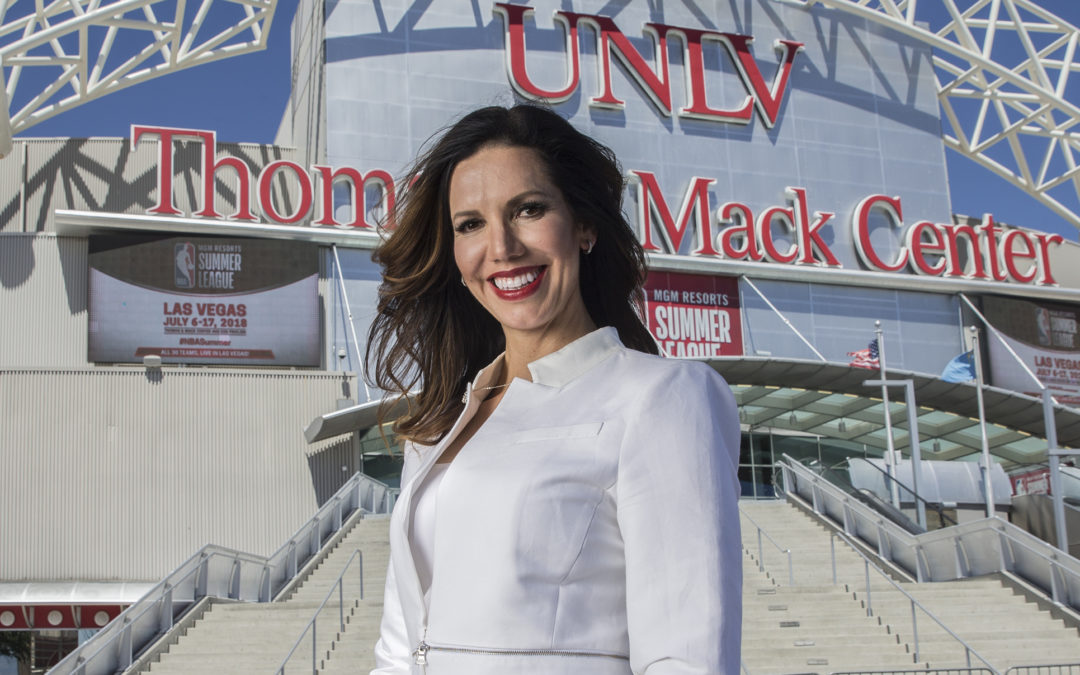 Reed-Francois Working to Transform UNLV Athletics