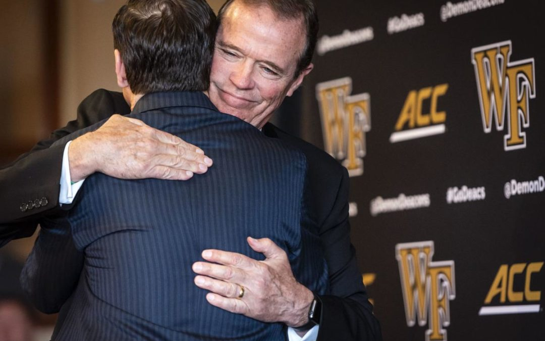 John Currie Hired as Ron Wellman's Successor at Wake Forest