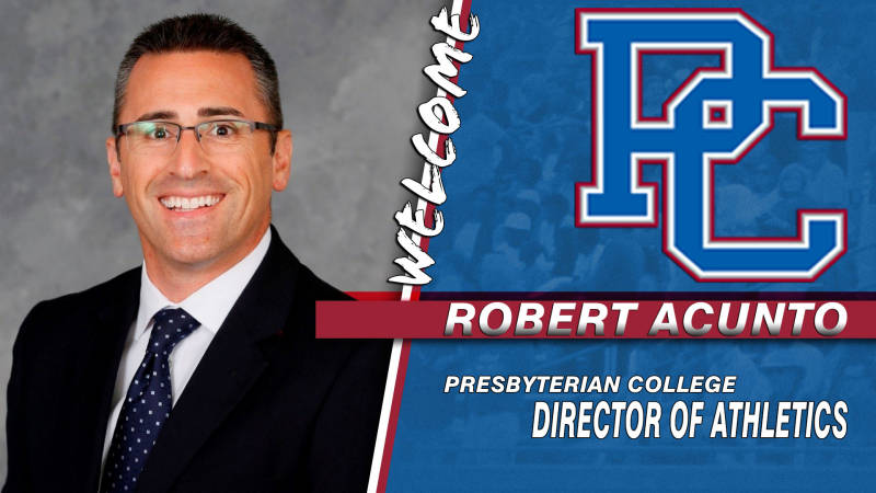 Acunto Named Director of Athletics at Presbyterian