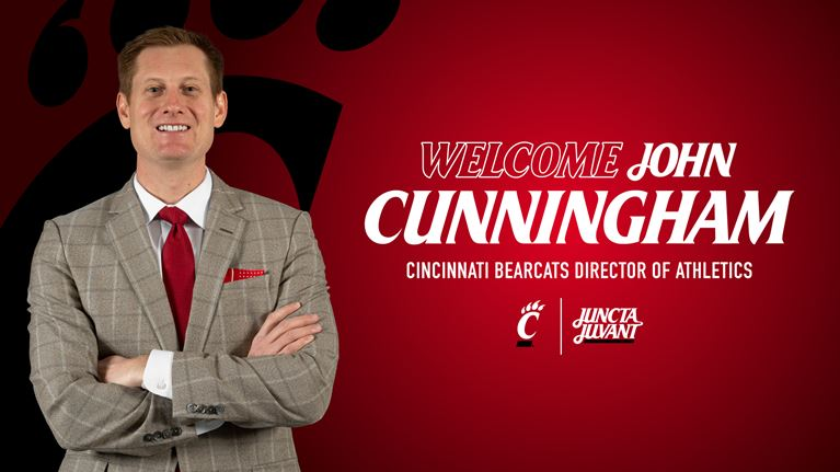 Cincinnati Names John Cunningham Director of Athletics