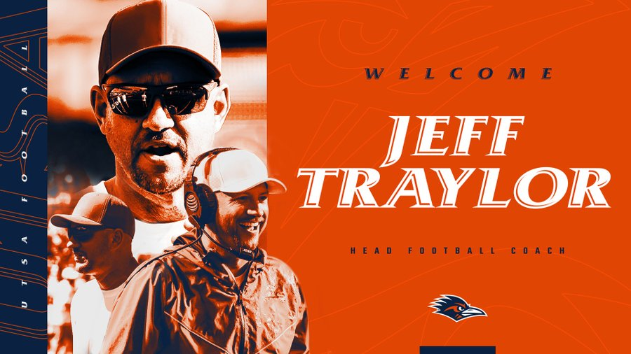 UTSA Names Jeff Traylor New Head Football Coach
