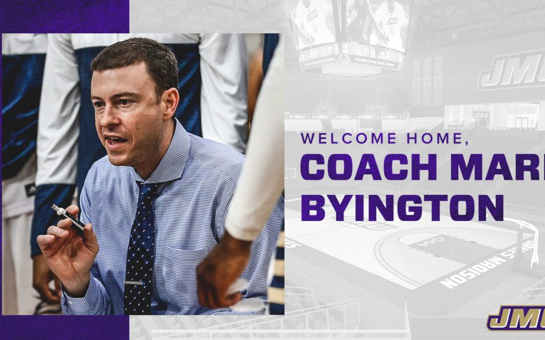 James Madison Names Mark Byington Men's Basketball Head Coach