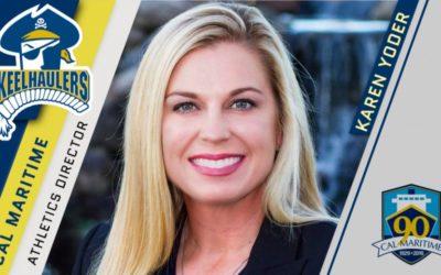 Karen Yoder Named AD at Cal Maritime