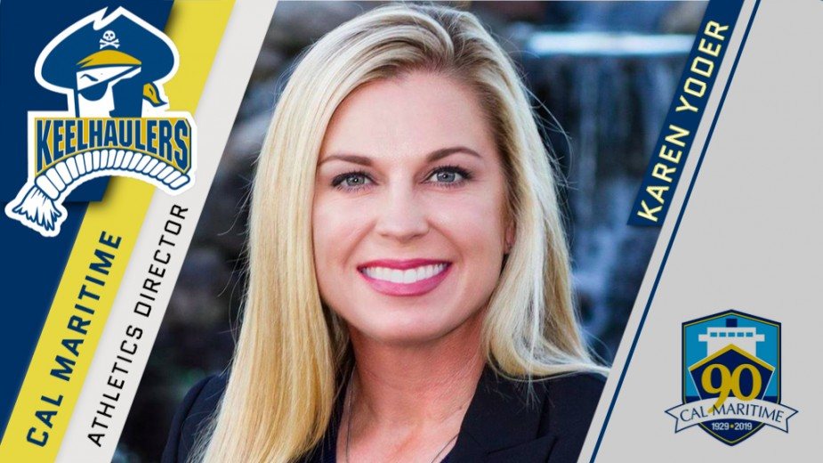 Karen Yoder Named AD at Cal Maritime