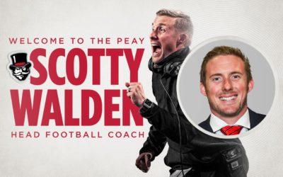 Scotty Walden Announced as APSU's Head Football Coach