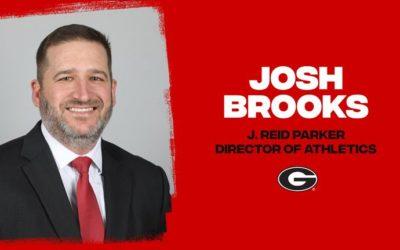 Josh Brooks to Lead Georgia Athletics