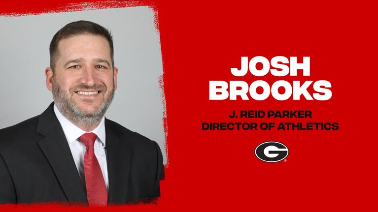 Josh Brooks to Lead Georgia Athletics