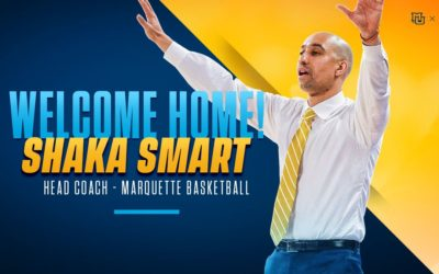 Shaka Smart to Lead Marquette Men's Basketball