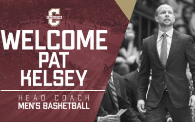 Pat Kelsey Named Men's Basketball Coach at the College of Charleston