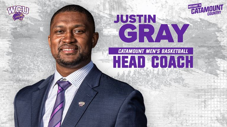 WCU Selects Justin Gray as Head Men's Basketball Coach