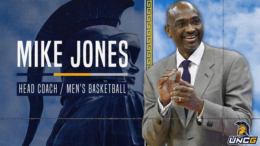 Mike Jones Named Head Men's Basketball Coach at UNCG