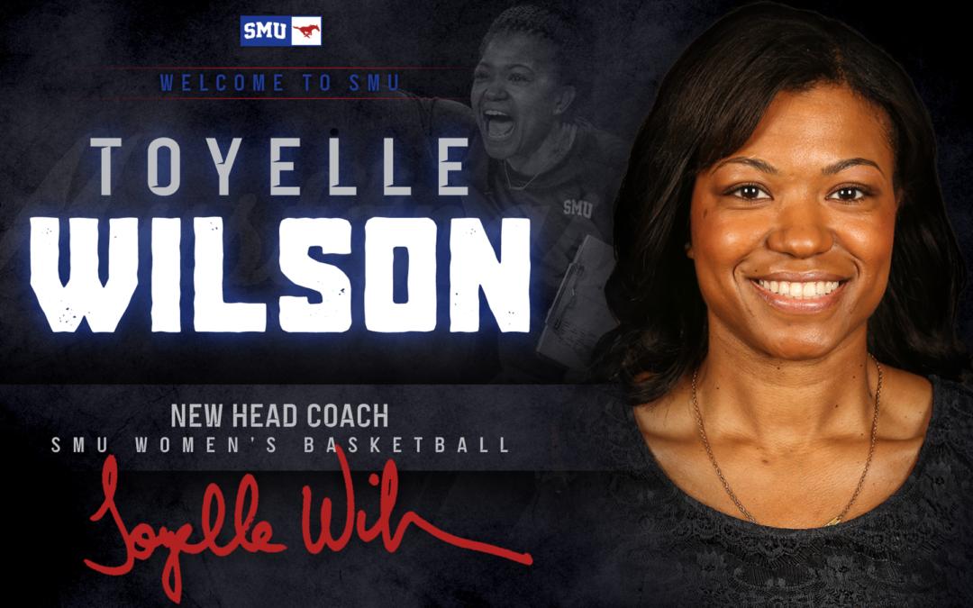 Toyelle Wilson Named SMU Head Women's Basketball Coach