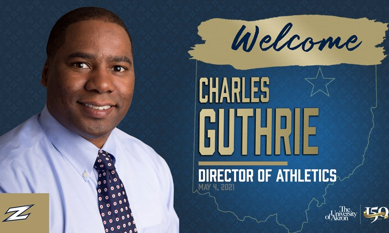 Akron Names Charles Guthrie Director of Athletics